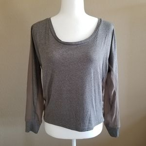 Taupe Gray Blouse